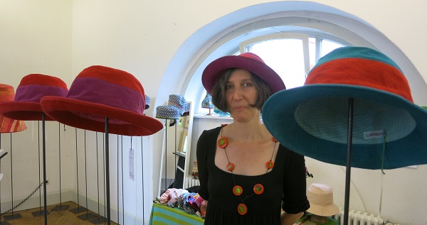 Hats-Exhibition from Bettina Weißhaar, Löwenhofreite, Michelstadt 2014